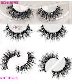 LILLY GHALICHI LASHES *MIAMI* DUPE, 3D MINK LASHES *UK SELLER*
