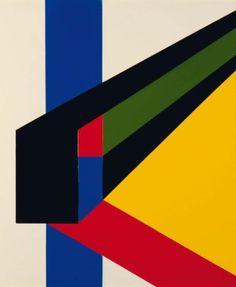 Guy Vandenbranden (1926)  Sans titre / zonder titel, 1966-67 Laque de cellu