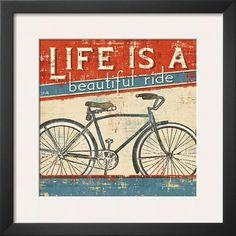 "Pela ""Beautiful Ride I"" - AllPosters.ca"