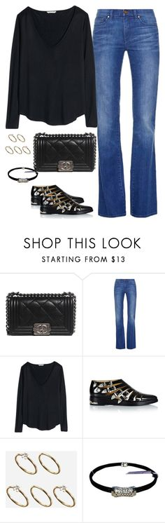 """""""Untitled #1873"""" by hankristina ❤ liked on Polyvore featuring Chanel, Tory Burch, H&M, Toga, ASOS and Charriol"""