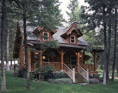 Cabin Design Ideas Inspiration - Mountain House Architecture 32