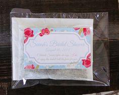 Wedding Favor Herbal Bath Tea, Bridal Tea Favor, Custom Favor, Bridal Shower Favor (1pk) on Etsy, £0.60