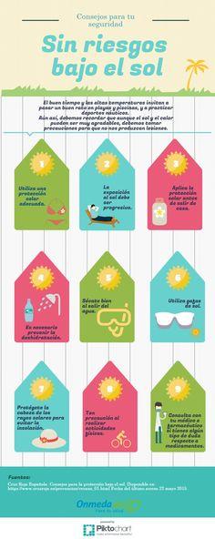 Consejos para protegerse del sol #CruzRoja https://www.cruzroja.es/prevencion/verano_01.html