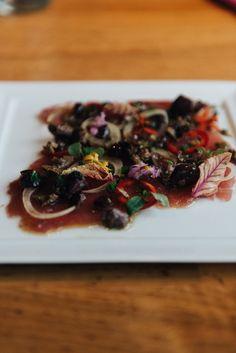 Seasons Restaurant, Ahi Poke, Healthy Snacks, Healthy Recipes, Veggie Wraps, Easy Weeknight Dinners, Healthy Options, How To Cook Pasta, Food Truck