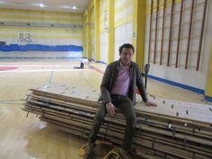 "In the sports hall of Riva del Garda (Italy) the company of Montebelluna replaces an ""old and sick"" sports floor. Click here!"
