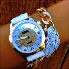Watch & I love the bracelet too ♥♥