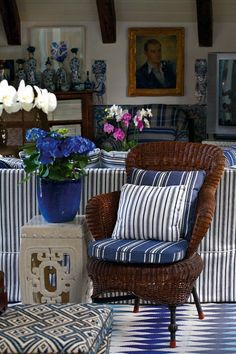 medley of blue and white pattern ~ Sig Bergamin design