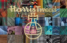 """""""We love anything made with Harris Tweed. It is in fashion this year! Why not visit the island through Scotland Made Easy?"""""""