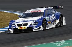 American Joey Hand is driving for BMW this season in the German version of NASCAR