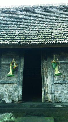 Dapur Di Desa Penglipuran Bangli Bali Adat