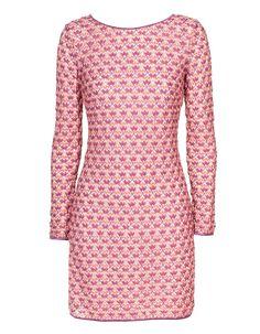 #Häkelkleid #Missoni  Shop here: http://www.fashion-square-online-mall.de/products/crochet-sheer-berry