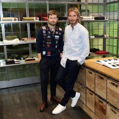 "1,926 Likes, 21 Comments - Kent & Curwen (@kentandcurwen) on Instagram: ""Celebrating the official opening of our new flagship at 12 Floral Street with @DavidBeckham and…"""