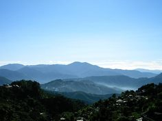 Morning in the summer capital of the Philippines: Baguio City