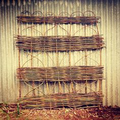 A new #garden #gate. Available @thepottingshedbowral soon Garden Gate, Wicker Baskets, Artisan, Instagram Posts, Decor, Decoration, Dekoration, Inredning, Interior Decorating