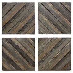 Wood wall planks