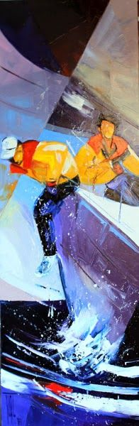 Por amor al arte: Pierrick Tual Alex Colville, Carl Larsson, Andrew Wyeth, Main Theme, Normandy, Brittany, Painting, Contemporary, Alberto Vargas