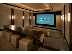 Home Theater. Dream house