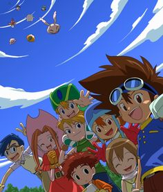 Digimon Adventure. There is no one like the original eight digidestined. :)