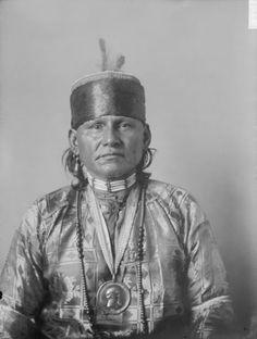 Red Eagle – Osage – 1908