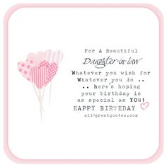 Happy birthday daughter in law quotes quotesgram quotes and free birthday cards for daughter in law to share bookmarktalkfo Images