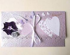 Paper envelope for wedding gifts/ Money card holder