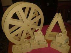 como hacer carretas para mesas de dulce - Buscar con Google