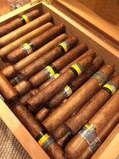 CatrinaMen entre los cohiba. #catrinemen #cigar #puros