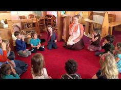 Waldorf Kindergarten Winter Circle Time