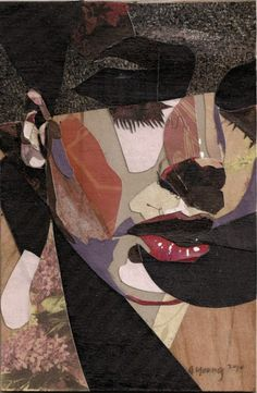 Collage portrait.