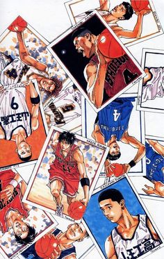 Manga Anime, Anime Guys, Michael Jordan Slam Dunk, Slam Dunk Manga, Inoue Takehiko, Skateboard Art, Basketball Art, Burton Snowboards, One Piece Anime