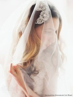 enchanted atelier by liv hart 2015 bridal accessories collection headpieces veils