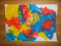 Peinture propre pour enfants