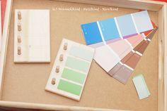 Montessori selbstgemacht - Der Schattierungskasten
