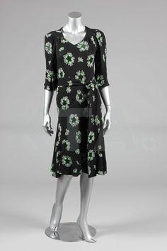 Ossie Clark dress with Celia Birtwell print