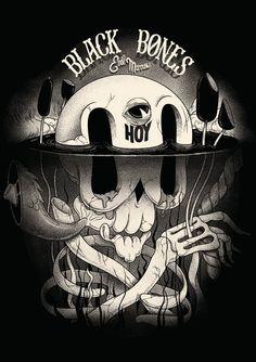 Converse x Be Street Black Bones Club – Mcbess
