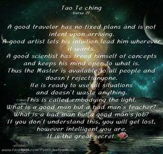 Tao Te Ching 27