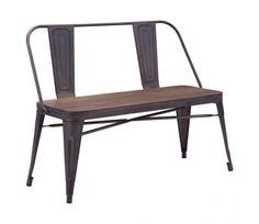 El modelo Industrial Bench es una banca que mantiene los detalles del diseño original. La banca es para 2 personas, y es ideal para un lateral de tu mesa de comedor, o incluso para la terraza. El estilo Vintage ofrece un acabado más industrial y su asiento de madera genera una sensación más rustica sin perder lo moderno del diseño.