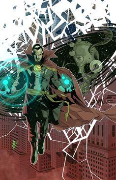 Doctor Strange What Is Marvel, The Other Marvel, Marvel Fan, Marvel Heroes, Cloak Of Levitation, Doctor Strange Comic, Midnight Son, Comic Frame, Ghost Dog