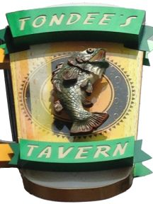 Tondee's Tavern - on other food tour, great shrimp and grits as well as other things . . . interesting history also