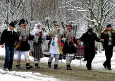 Christmas tradition's Romania