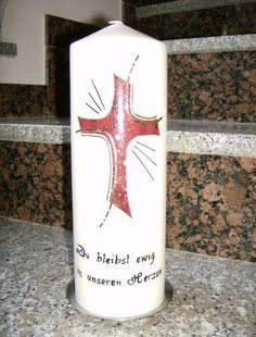 Pillar Candles, Crosses, Decorated Candles, Candle Decorations, Easter Candle, Bedroom Plants, Candles