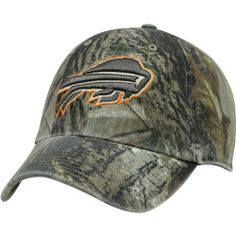 fa4fdeb471f Men s  47 Brand Buffalo Bills Real Tree Clean Up Adjustable Slouch Hat  Adjustable by