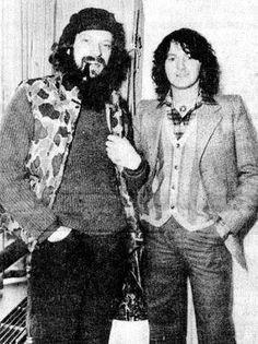 Ian & Jon Anderson. Circa 1978.