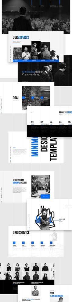 Grids is a Minimalist multipurpose keynote and powerpoint presentation. When - Keynote - Ideas of Keynote - Grids is a Minimalist multipurpose keynote and powerpoint presentation. Booklet Layout, Web Layout, Layout Template, Keynote Template, Layout Design, Presentation Slides Design, Presentation Templates, Web Design Tips, Best Web Design