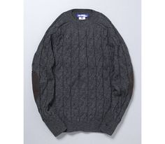Comme des Garçons x Junya Watanabe Man Cable Knit Fisherman Sweater 01
