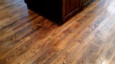 Asphalt On Reclaimed Douglas Fir Wood Floor Pinterest