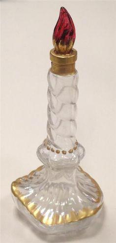 RARE Vintage SCHIAPARELLI Perfume Bottle 'SLEEPING' Candle
