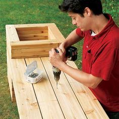 Photo: Kolin Smith | thisoldhouse.com | from How to Build a Planter Bench