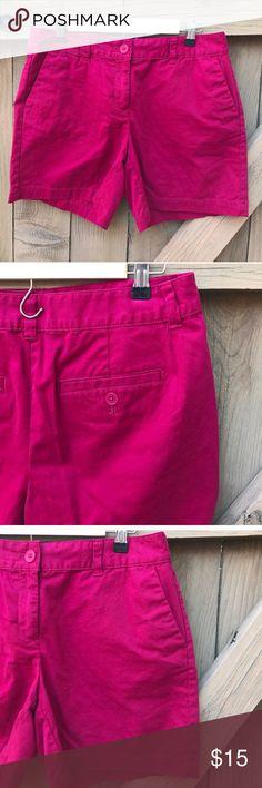 Size 6 hot pink Ann Taylor LOFT shorts Size 6 hot pink Ann Taylor LOFT shorts LOFT Shorts