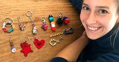 Wie Sie mit Ihren Kindern Schritt für Schritt originelle Schlüsselanhänger basteln können, zeigt Béa Beste diesmal in ihrer Kolumne.